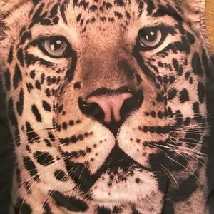 Leopard Animal Print Graphic Design Crop Top